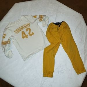 H&M 18-24M pants and Carter's top 24M